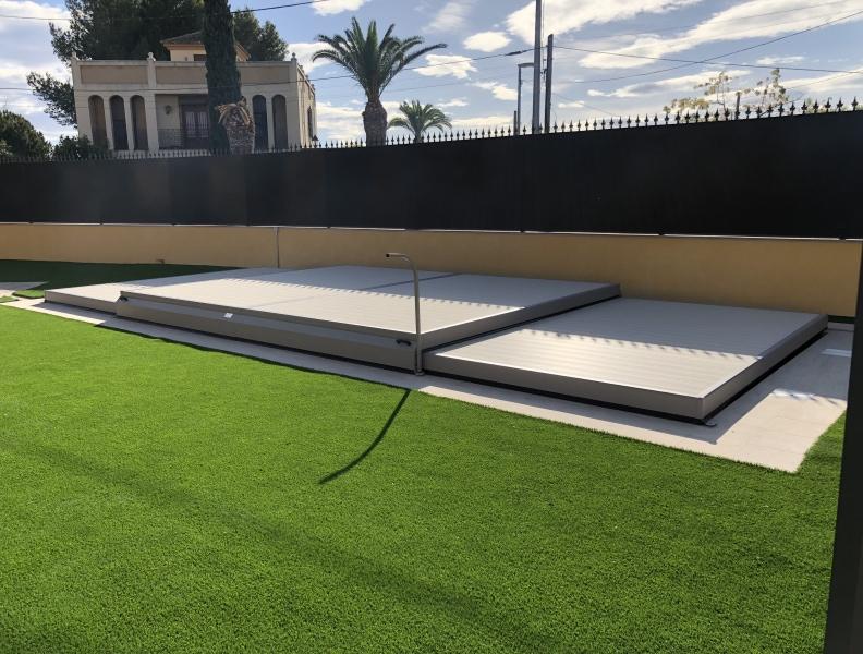 Ventajas de instalar una cubierta plana en tu piscina