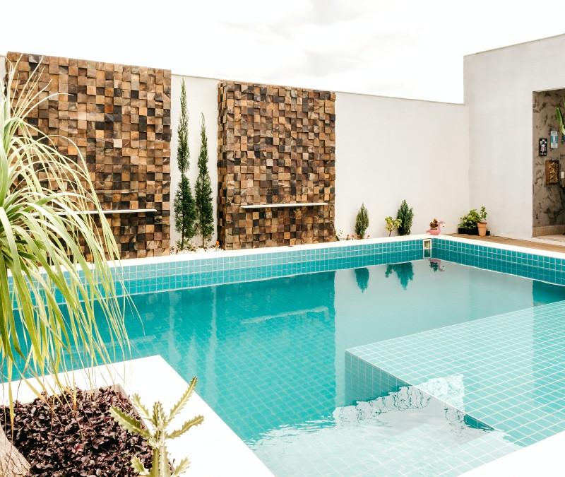 La piscina durante el invierno