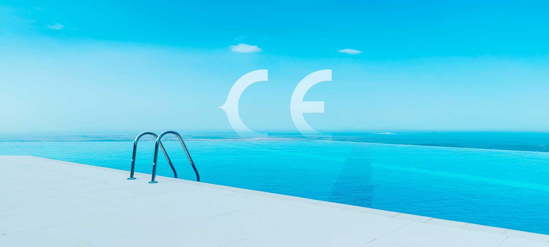 Primera marca española de cubiertas de piscina certificada con MARCADO CE
