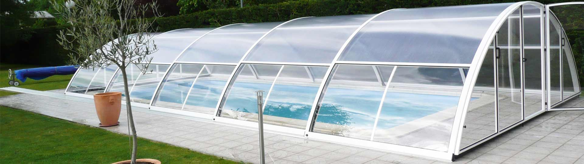 Perfiles VGMT en las cubiertas de piscina de Cupoola