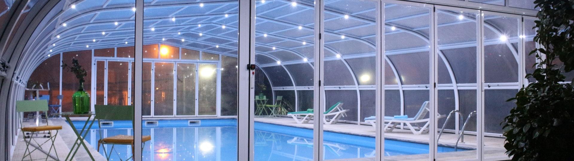 Tipos de cubiertas de piscina